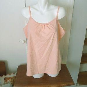 Lane Bryant Peach Pink Orange Camisole Top 18/20